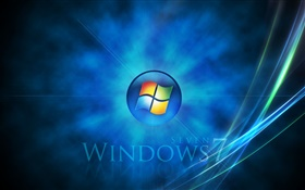 Windows 7, 光芒四射 高清壁纸