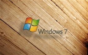 Windows 7,木板 高清壁纸